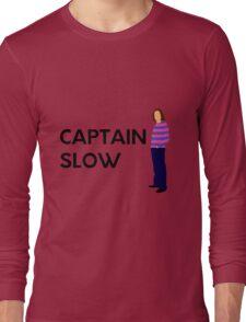 "James May ""Captain slow"" original design Long Sleeve T-Shirt"