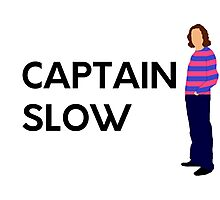 """Captain slow"" original design Photographic Print"
