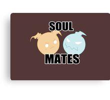 We're Like Soul Mates Canvas Print