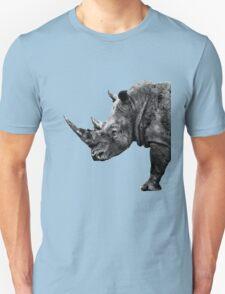 SAFARI PROFILE - RHINO BLACK EDITION Unisex T-Shirt