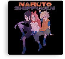 Team 7 naruto sasuke sakura 0003 Canvas Print