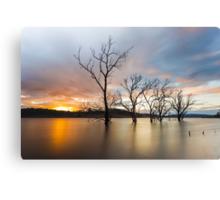 Wyaralong Dam Sunset Canvas Print