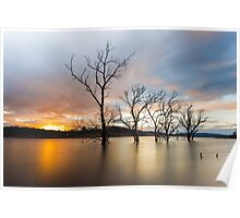 Wyaralong Dam Sunset Poster