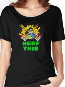 OVERWATCH NERF THIS Women's Relaxed Fit T-Shirt