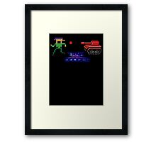 Tank Dodger - Running man Framed Print