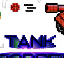 Tank Dodger - Running man Sticker