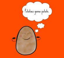 Potatoes gonna potate Kids Tee