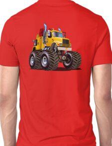 Cartoon Monster Tow Truck Unisex T-Shirt