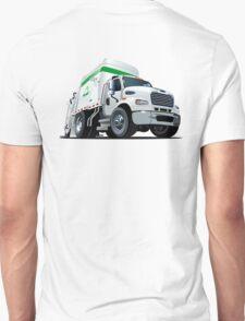 Cartoon Garbage Truck Unisex T-Shirt