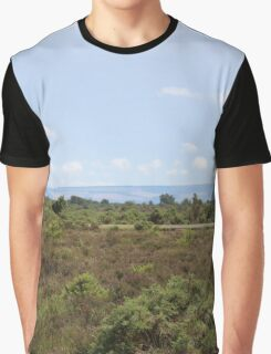 View across the New Forest Graphic T-Shirt