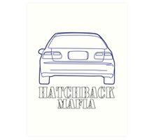 Hatchback mafia Art Print