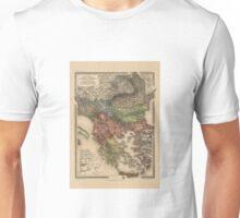 Map Of Turkey 1903 Unisex T-Shirt