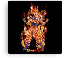 Super Saiyan Goku Cool Ever 0008 Canvas Print