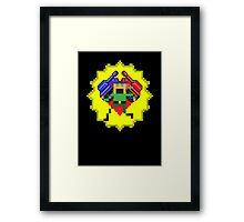 Tank Dodger - Heart of a Runner Icon Framed Print