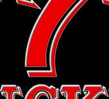 Lucky 777 Logo Sticker