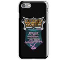 LegendSmith gets Jinxed iPhone Case/Skin