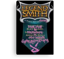 LegendSmith gets Jinxed Canvas Print