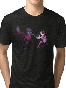 Final Fantasy XIII-2 logo universe Tri-blend T-Shirt