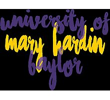 University of Mary Hardin-Baylor Photographic Print