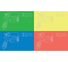 Han Solo Blueprint Tile Photographic Print