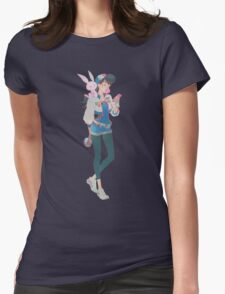 OVERWATCH POKEMON :)) Womens Fitted T-Shirt