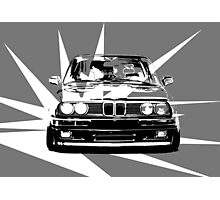 Abstract BMW ART Photographic Print
