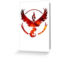 Red Team Greeting Card