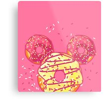 Pop Donut - Strawerry Frosting Metal Print