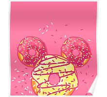 Pop Donut - Strawerry Frosting Poster