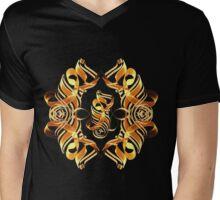 Light, Beauty, Love (Arabic) - pattern Mens V-Neck T-Shirt