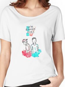 We're broken people Women's Relaxed Fit T-Shirt