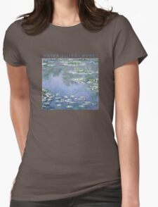 WATER LILIES MONET Womens Fitted T-Shirt