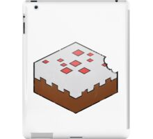 Minecraft Cake Bite iPad Case/Skin