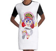 Dr. Slump - Arale. Dr.スランプ, Dokutā Suranpu Graphic T-Shirt Dress