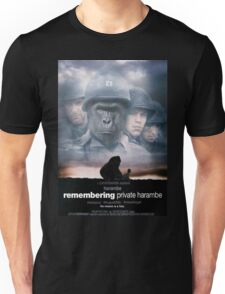 Remembering Private Harambe Unisex T-Shirt