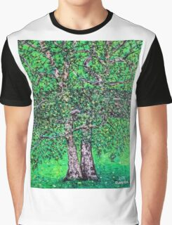 'Elm Trees' (Plein Air Painting) Graphic T-Shirt