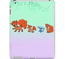 Vulpixes and a Wooper iPad Case/Skin