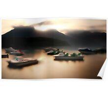 Sleeping Boats... Poster