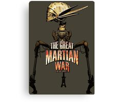 The Great Martian War Canvas Print