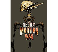 The Great Martian War Photographic Print