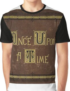 Once Upon A Time Book Graphic T-Shirt