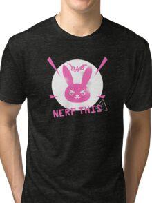 OVERWATCH D. VA Tri-blend T-Shirt