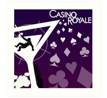 Casino Royale Art Print