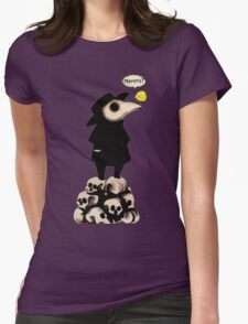 Plague Doctor Womens Fitted T-Shirt