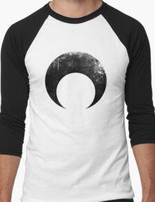 Sailor Moon dark symbol Men's Baseball ¾ T-Shirt