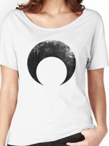 Sailor Moon dark symbol Women's Relaxed Fit T-Shirt