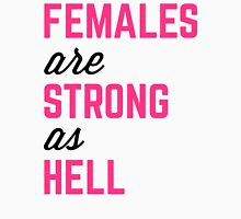 Females Strong Hell Gym Quote Women's Tank Top