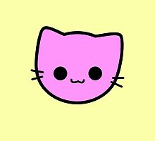 Kawaii Kitty Cats 2048 - tile 2 by hadosabi