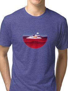 Message on a Bottle Tri-blend T-Shirt
