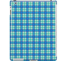 Sea Tartan iPad Case/Skin